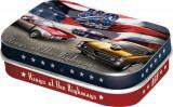 Cutie metalica cu bomboane - US Cars