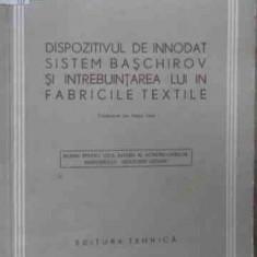 Dispozitivul De Innodat Sistem Baschirov Si Intrebuintarea L - M. V. Baschirov ,523379