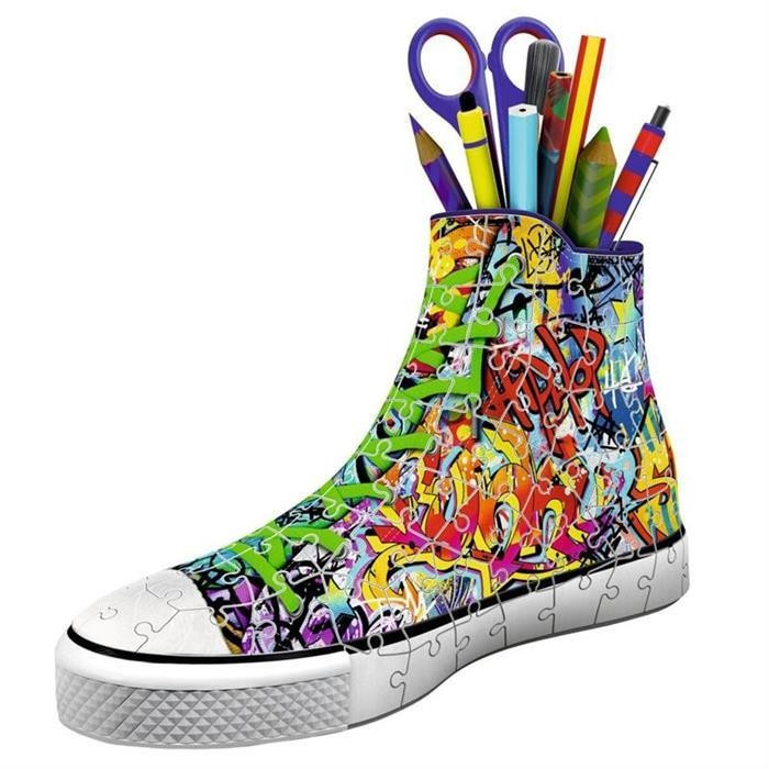 Puzzle Ravensburger Sneaker Graffiti Pen Holder 108 Pcs 3D