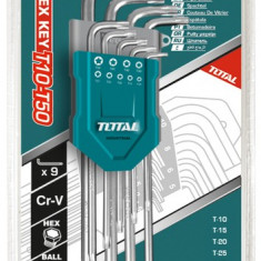 Set 9 chei imbus Torx T10-T50 Cr-V (Industrial)PB Cod:MXTHT106391
