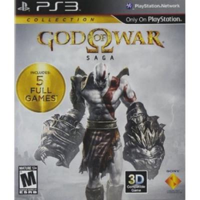 God of War Saga PS3 foto