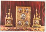 Bnk cp Manastirea Secu - Chivote si Evanghelie - necirculata, Printata, Vanatori Neamt