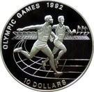 Niue 10 Dolari 1991 - (Summer Olympics) Argint 10 g/925, Aoc1 , KM-46 UNC !!!