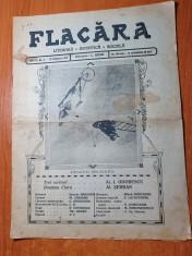flacara 23 noiembrie 1913-articol si foto aviatorul pegoud,primul as in aviatie foto