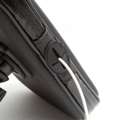 Husa Telefon pentru Biciclete cu Suprafata Tactila Impermeabila pentru Telefoane Maxim 5,5 inch foto