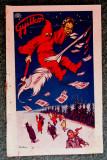 Lacul Rosu - Lacul ucigas.Cromolitografie Imre Földes Feld Oradea 1923. Rara.