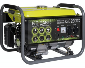 Generator curent 2,8 kW Könner & Söhnen KSB 2800C, benzina