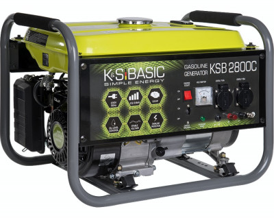Generator curent 2,8 kW Könner & Söhnen KSB 2800C, benzina foto