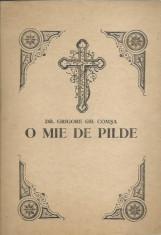 AS - DR. GRIGORE GH. COMSA - O MIE DE PILDE foto