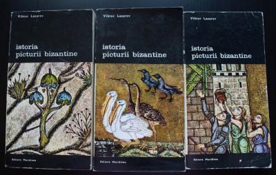 Viktor Lazarev - Istoria picturii bizantine (3 vol.) foto