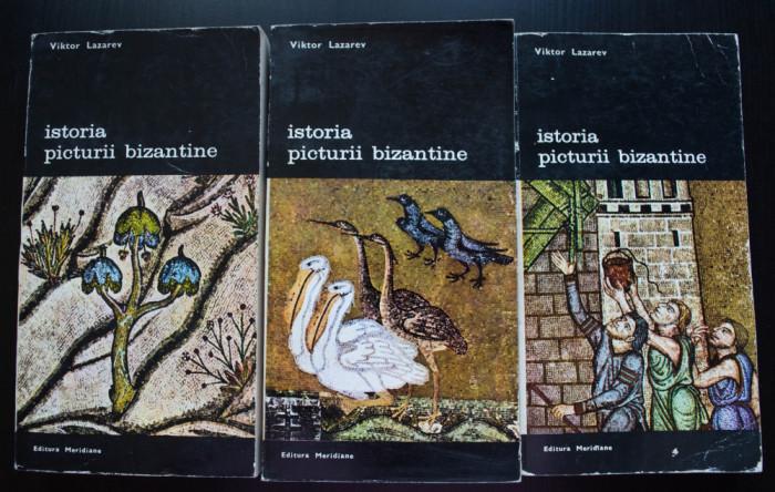 Viktor Lazarev - Istoria picturii bizantine (3 vol.)
