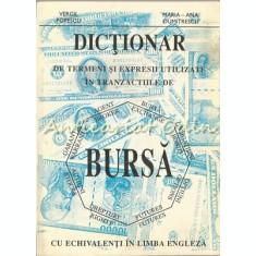 Dictionar De Termeni Si Expresii Utilizate In Tranzactiile De Bursa - V. Popescu