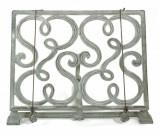 Suport pentru cartea de bucate Gourmet - Esschert Design, Gri & Argintiu