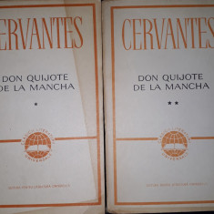 Miguel de Cervantes – Don Quijote de la Mancha (vol. 1 si 2)