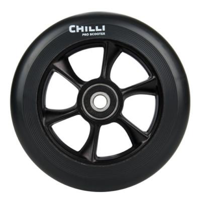 Roata Trotineta Chilli Turbo 110mm + Abec 9 black foto