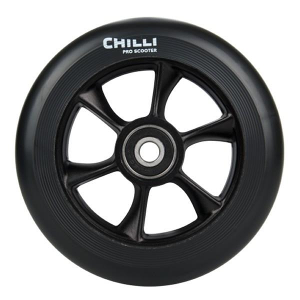 Roata Trotineta Chilli Turbo 110mm + Abec 9 black