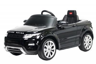 Masinuta electrica pentru copii Land Rover Evoque 2x25W 12V #Negru foto