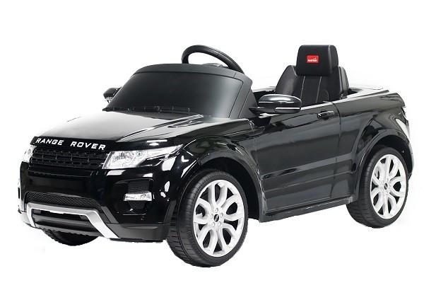 Masinuta electrica pentru copii Land Rover Evoque 2x25W 12V #Negru