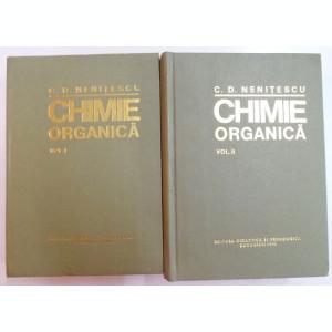 CHIMIE ORGANICA de C.D. NENITESCU,VOL.I-II EDITIA A VIII-A 1980