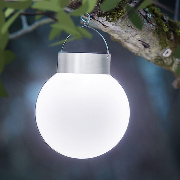Lampa solara LED I-Glow pentru agatat in copac