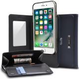 Husa Ringke Wallet Portofel 2in1 Smartphone din Piele cu Card Slot Suport Samsung Galaxy S8 Plus G955 blue