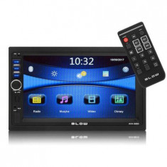 "Sistem multimedia auto Blow Avh-9880, GPS, Bluetooth, USB, ecran 7"", MP5, negru"