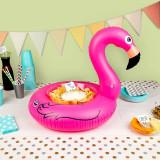 Colac gonflabil pentru boluri - Flamingo | BigMouth Inc