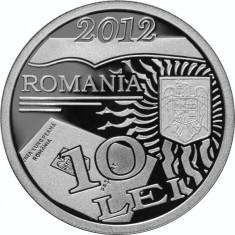 Moneda argint Centenarul primei legi moderne a paşapoartelor româneşti