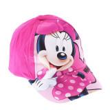 Sapca fete Minnie Mouse Dots fucsia
