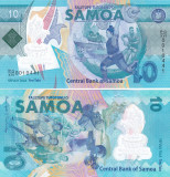 Samoa 10 Tala 2019 Polimer UNC