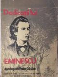 DEDICATII LUI EMINESCU - ANTOLOGIE DE VICTOR CRACIUN