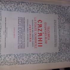 Carte veche religioasa Ticluirea Evangheliilor,CAZANII,JUSTINIAN 1973,T.GRATUIT