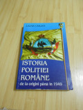 LAZAR CARJAN--ISTORIA POLITIEI ROMANE PANA LA 1949