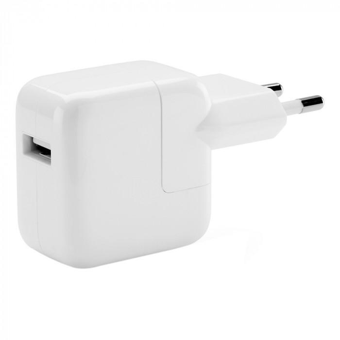 Adaptor Incarcator Priza Retea Original Apple USB 12W iPad iPhone iPod - Bulk