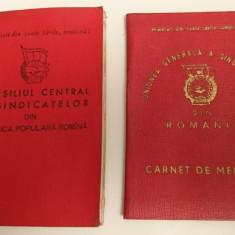 Comunism Carnete membru - Uniunea Generala si Consiliul Central ale Sindicatelor