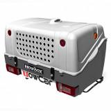Cutie portbagaj pe carigu de remorcare Towbox V1 DOG Gri 280L