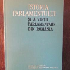 ISTORIA PARLAMENTULUI SI A VIETII PARLAMENTARE DIN ROMANIA