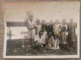 Foto grup cu copii// perioada interbelica
