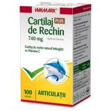 Cartilaj de Rechin Plus 740 mg cu vitamina C, 100 capsule, Walmark