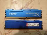 Kit Memorie DDR3 Fury, Kingston