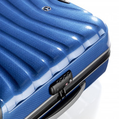 Valiza firelite spinner 69- albastru