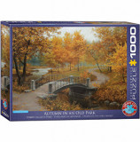 Cumpara ieftin Puzzle Eurographics - Eugeny Lushpin: Autumn in an Old Park, 1000 piese