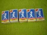 Lot d 5 cutii de chibrituri de colectie