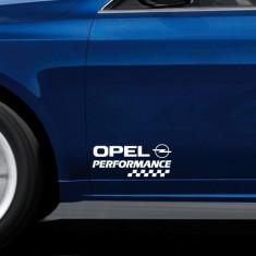 Stickere portiere PERFORMANCE - OPEL (set 2 buc)