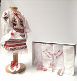 Cumpara ieftin Set Traditional Botez Fetita - Costumas + Trusou 5