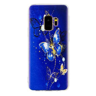 Husa Samsung S9 silicon fluture foto