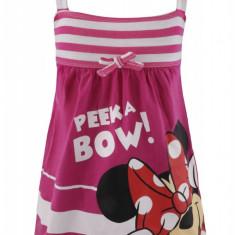 Rochie Minnie Mouse Disney, bumbac, Roz, pentru fetite