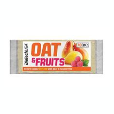 Baton Proteic de Fibre si Fructe 70 grame Bio Tech USA Cod: BTNOAFR