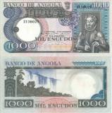 1973 ( 10 VI ) , 1,000 escudos ( P-108a ) - Angola - stare XF+