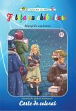 Fetita cu chibrituri - carte de colorat